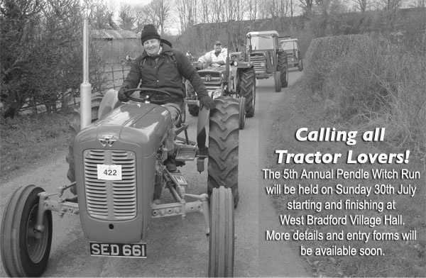 West Bradford Tractor Run - The Pendle Witch